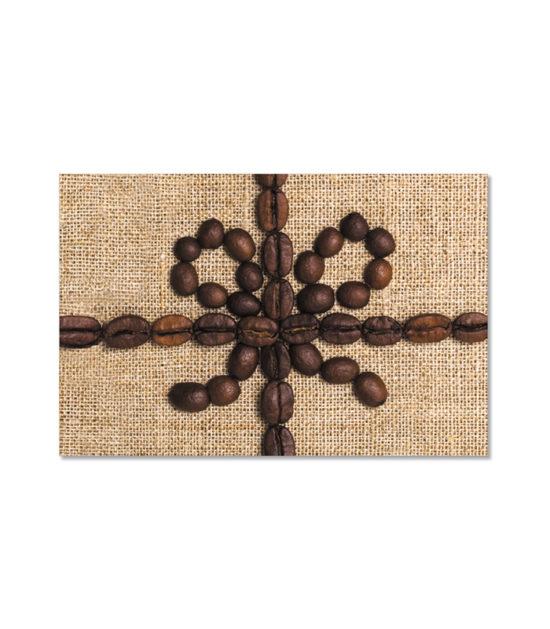 GCH328 Coffee Bean Side Fold Gift Card Holder